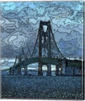 Mackinaw Bridge Fine Art Print