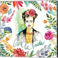 Fridas Flower Fancy I Fine Art Print