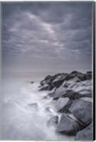 Stormy Shoreline, Cape May National Seashore, NJ Fine Art Print