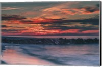 Sunrise On Winter Shoreline 6, Cape May National Seashore, NJ Fine Art Print
