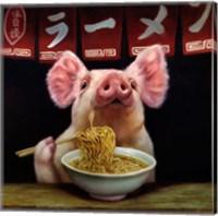 Oodles of Noodles Fine Art Print