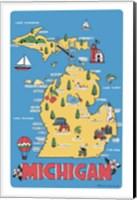 Michigan Fine Art Print