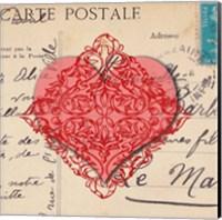 Le Coeur d'Amour I Fine Art Print