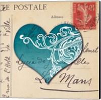 Le Coeur d'Amour II Fine Art Print
