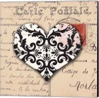 Le Coeur d'Amour IV Fine Art Print