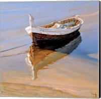 Barcas Descansando Fine Art Print