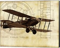 Flight Plans I Fine Art Print