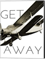 Vintage Airplanes II Fine Art Print