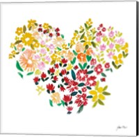 Flower Heart Fine Art Print