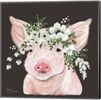 Poppy the Pig Fine Art Print