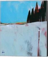 Snow Field Fine Art Print