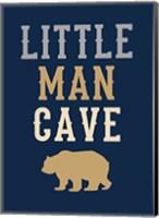 Little Man Cave Fine Art Print