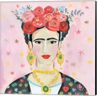 Homage to Frida Shoulders Fine Art Print