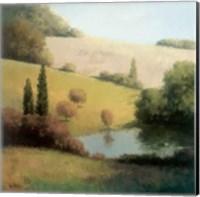 Inspired Hillsides I Fine Art Print
