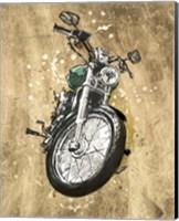 Metallic Rider II Fine Art Print