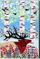 Forest Creatures I Fine Art Print
