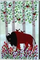 Forest Creatures VI Fine Art Print
