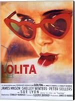 Lolita Heart Sunglasses Fine Art Print