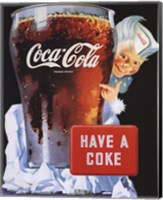 Coca-Cola Have a Coke Fine Art Print