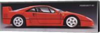 Ferrari F-40 Fine Art Print