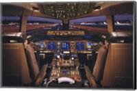 Airplane - Boeing 777-200 Flight Deck Wall Poster