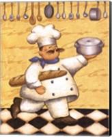 Le Chef Et Le Pain Fine Art Print