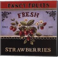 Fresh Strawberries Fine Art Print
