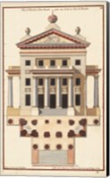 Palladio Facade II Fine Art Print
