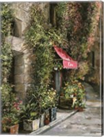 St.Moritz Cafe Fine Art Print