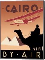 Cairo by Air Fine Art Print
