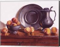 Peaches & Pewter Fine Art Print