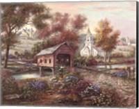 Razzberry Creek Crossing Fine Art Print