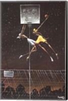 Omega Fly Dunk Fine Art Print