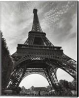 La Tour Eiffel, Paris - under Fine Art Print