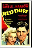 Red Dust Wall Poster