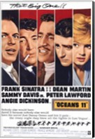 Oceans 11 That Big One Wall Poster