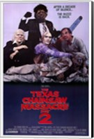 Texas Chainsaw Massacre 2 Wall Poster