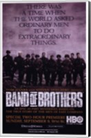 Band of Brothers Extraordinary Things Fine Art Print