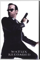 The Matrix Reloaded Hugo Weaving as Agent Smith Wall Poster
