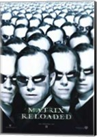 The Matrix Reloaded Agent Smith Wall Poster
