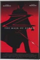 The Mask of Zorro Fine Art Print