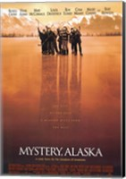 Mystery Alaska Red Hue Hockey Wall Poster