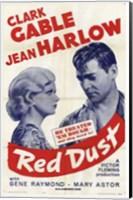 Red Dust With Gene Raymond Fine Art Print
