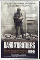 Band of Brothers Memories Keep Us Going Wall Poster