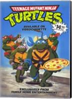 Teenage Mutant Ninja Turtles Original Cartoon Wall Poster