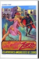 Erotic Adventures of Zorro Wall Poster