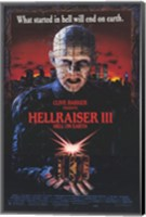 Hellraiser 3 Hell on Earth Wall Poster