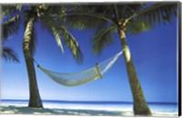 Paradise Beach Scene Wall Poster