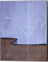 Blue Martini Fine Art Print