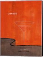 Orange Martini Fine Art Print
